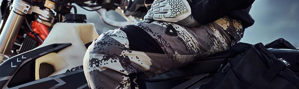 SPODNIE MOTOCYKLOWE, SPODNIE NA MOTOCYKL, TEKSTYLNE SPODNIE MOTOCYKLOWE, MATERIAŁOWE SPODNIE MOTOCYKLOWE
